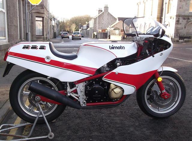 1982 Bimota 1,099cc HB2 Frame no. HB2 00109 Engine no. SC05E2101920