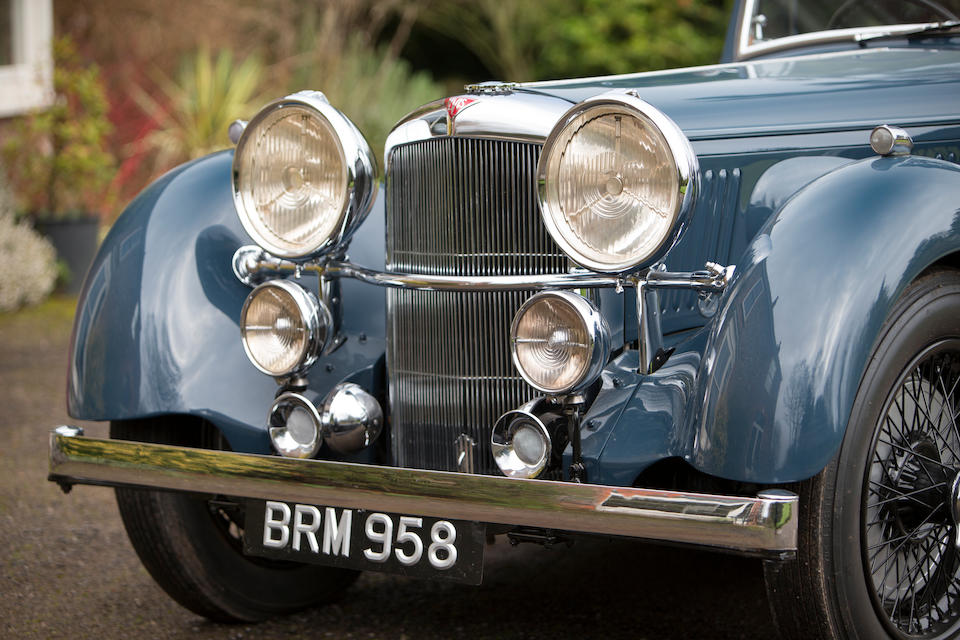 Offered from a distinguished private collection,1936 Alvis 4.3-Litre SA Drophead Coupé  Chassis no. 13178
