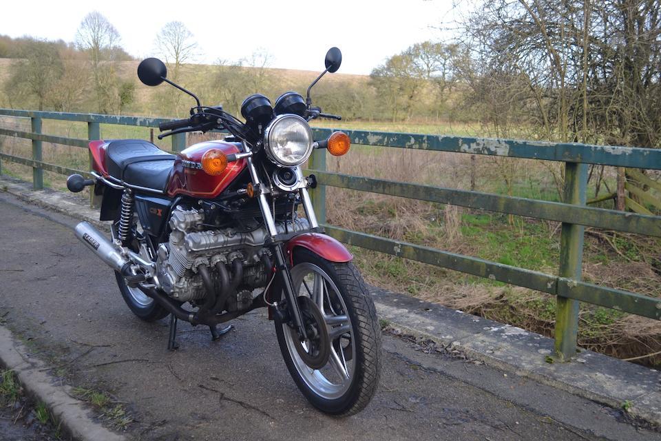 1979 Honda CBX1000Z Frame no. CB1 2003118 Engine no. CBIE 2003363