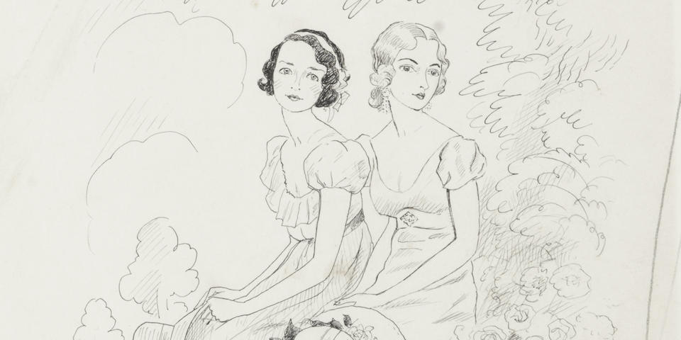 Cecil Beaton (British, 1904-1980) The French Sisters
