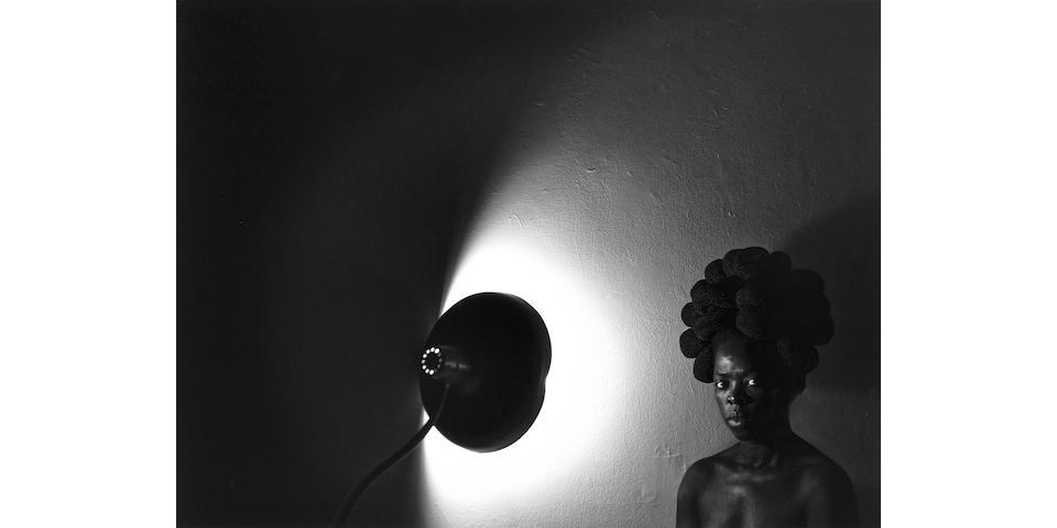 Zanele Muholi (South African, born 1972) Sasa, Bleecker, New York, 2016 image size 42 x 56cm; sheet size 46 x 60cm