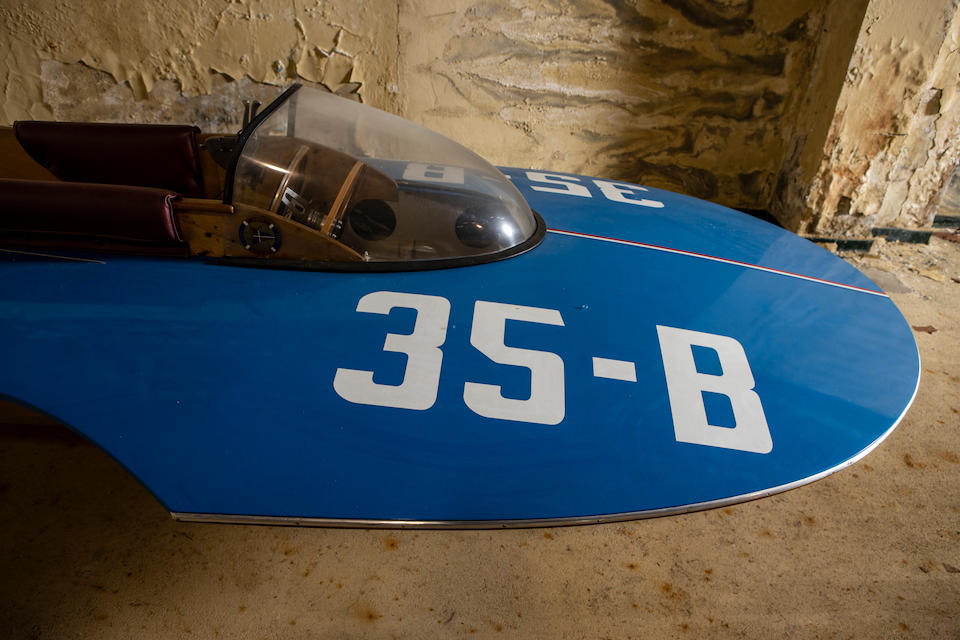 Offered from the Morbidelli Museum collection,c.1950s Racing Hydroplane