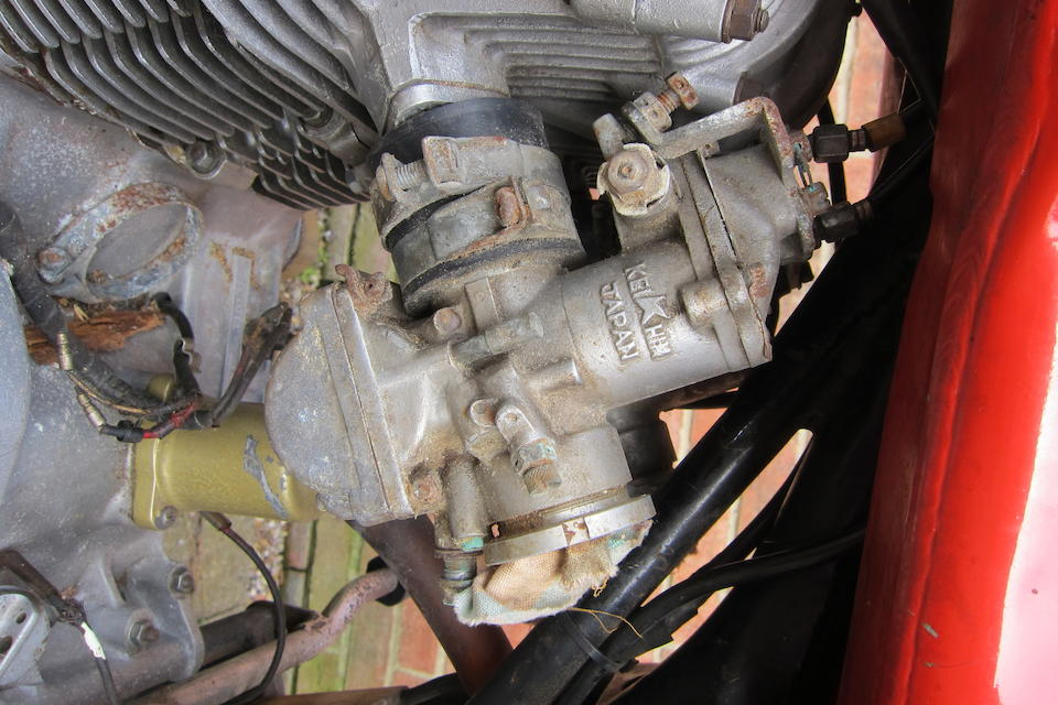 Property of a deceased's estate, c.1963 Honda 250cc CR72 Racing Motorcycle Frame no. CR72-310192 Engine no. CR72E-310119