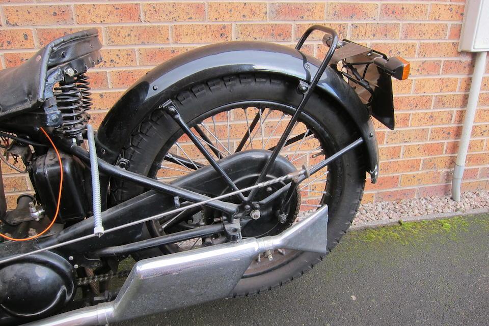 1930 AJS 349cc Model R6 Frame no. R107583 Engine no. R6/107583