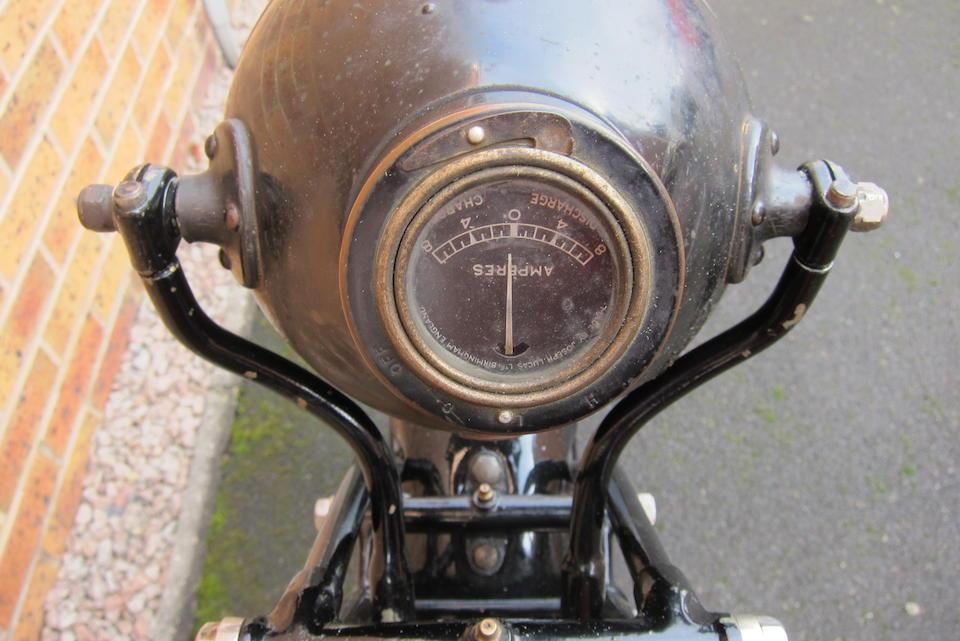 1928 AJS 248cc Model K12 Project Frame no. K122835 Engine no. K122835