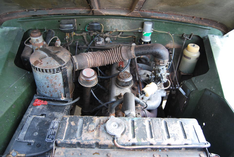 1962 Land Rover Series 2   Chassis no. 24104223A