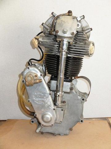 A Velocette KSS Mk2 engine