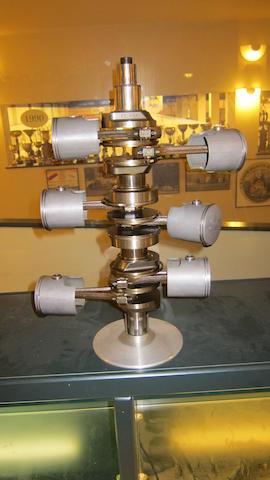 A display crankshaft assembly