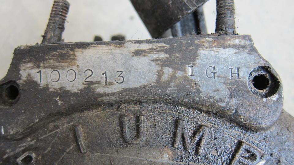 A Triumph crankcase assembly  ((2))