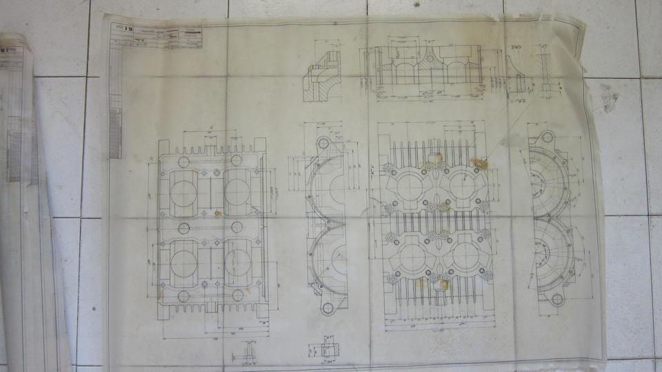 A quantity of techincal drawings  ((Qty))