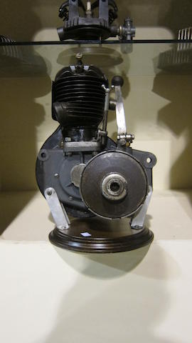 A believed DKW Two-stroke engine with transmission