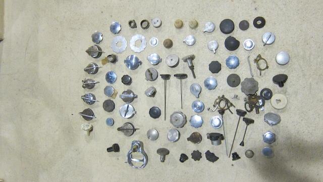 An assortment of filler caps  ((Qty))