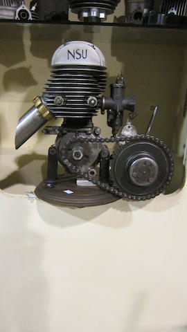 A NSU Two-stroke engine and NSU gearbox  ((2))