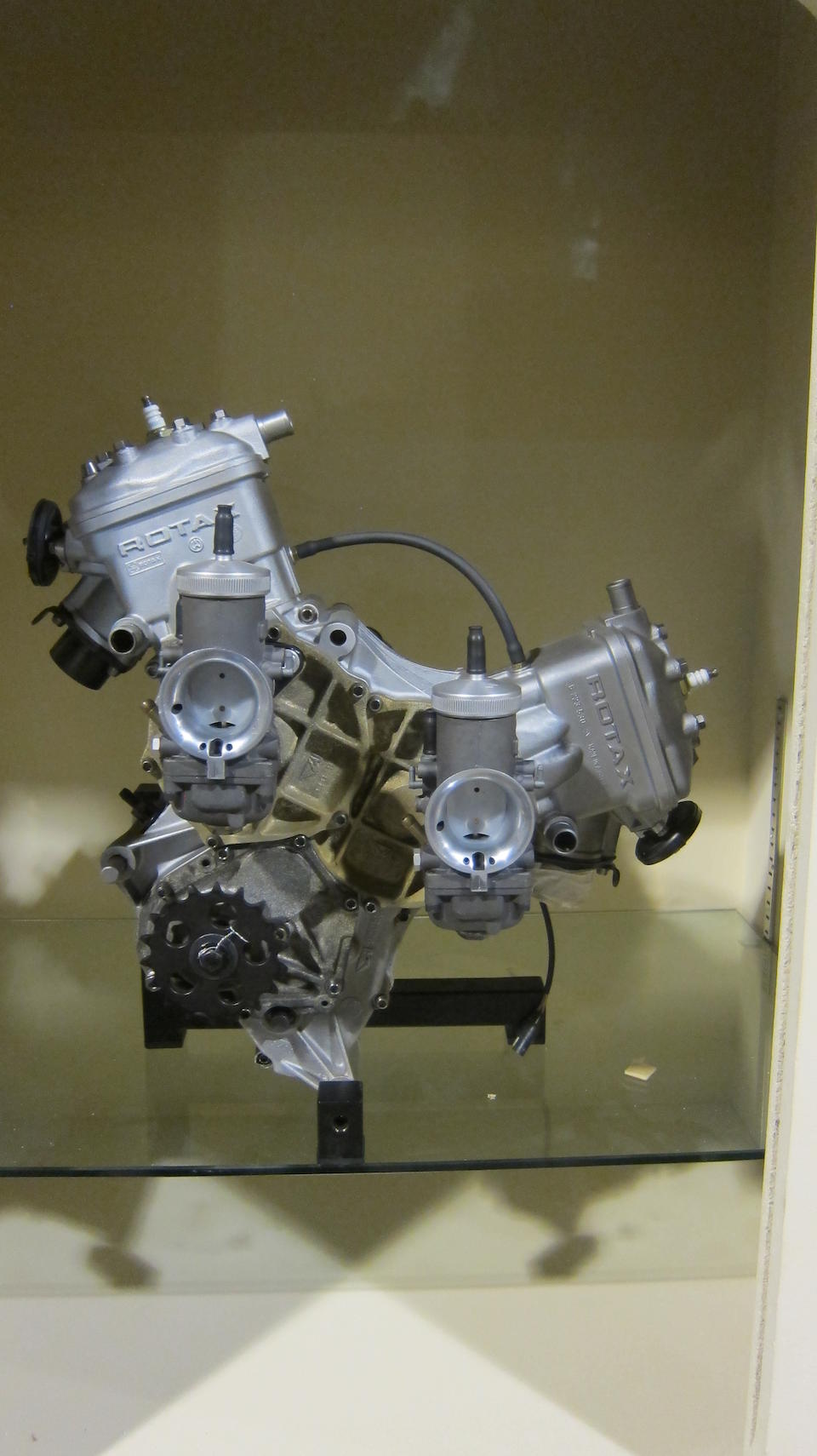A Rotax V-twin water cooled engine believed Grand Prix type