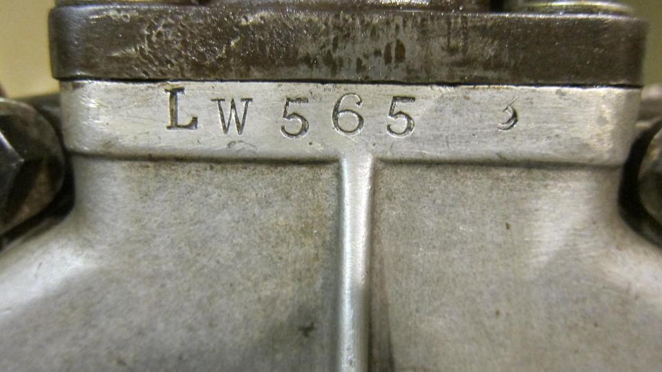 An unidentified Four-stroke engine