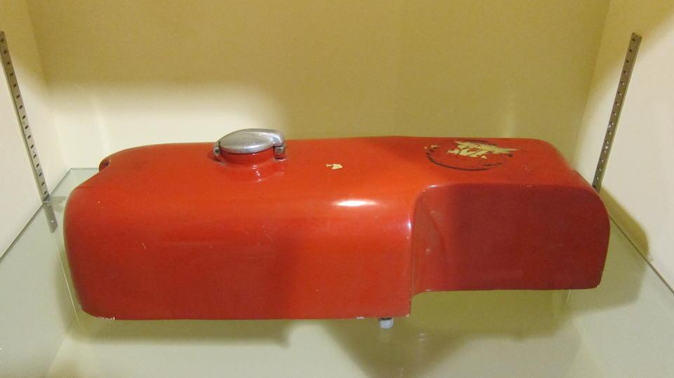 An aluminium alloy petrol tank
