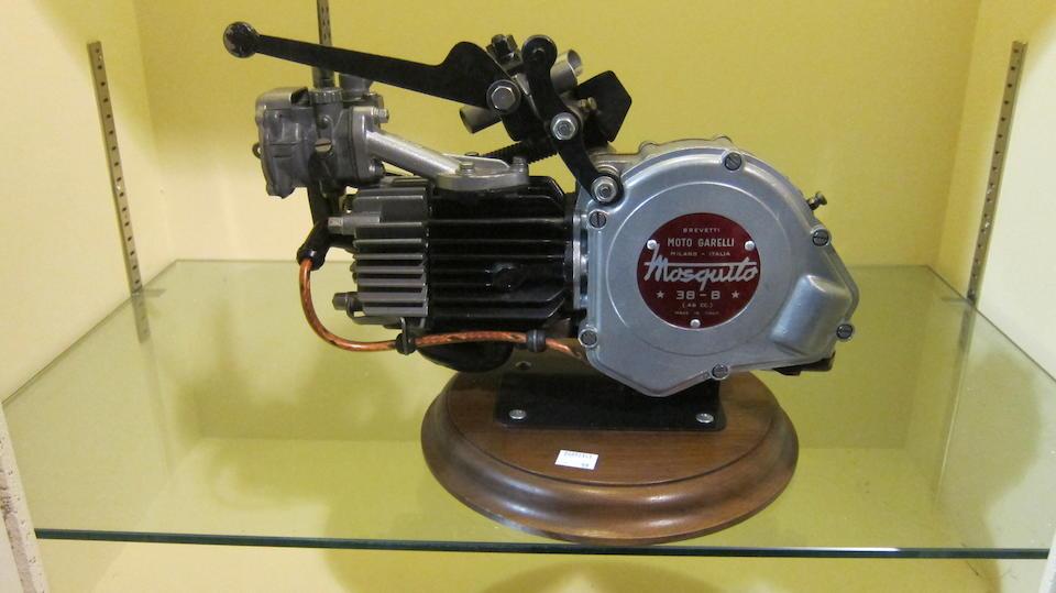 A Moto Garrelli mosquito clip-on engine