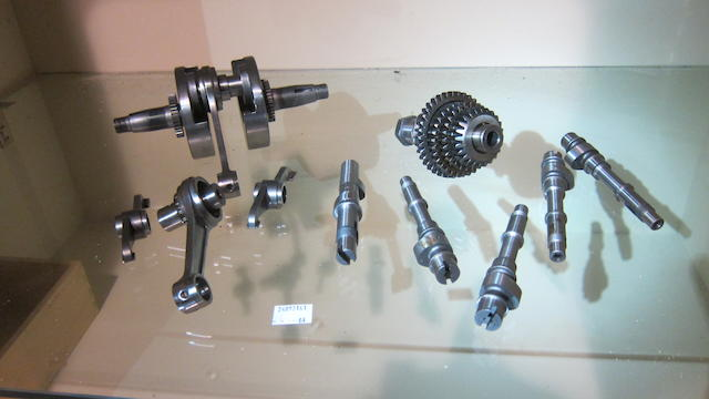 An unidentified selection of engine components  ((Qty))