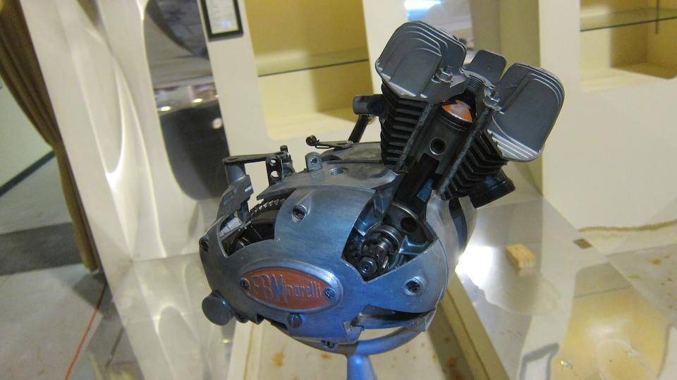 A FB Minarelli cutaway engine