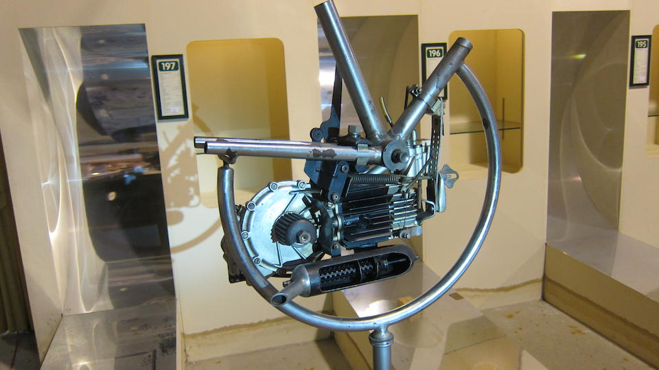 A believed Mineralli cutaway engine