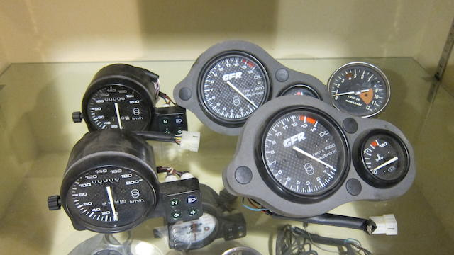 An assortment of vehicle instruments  ((Qty))