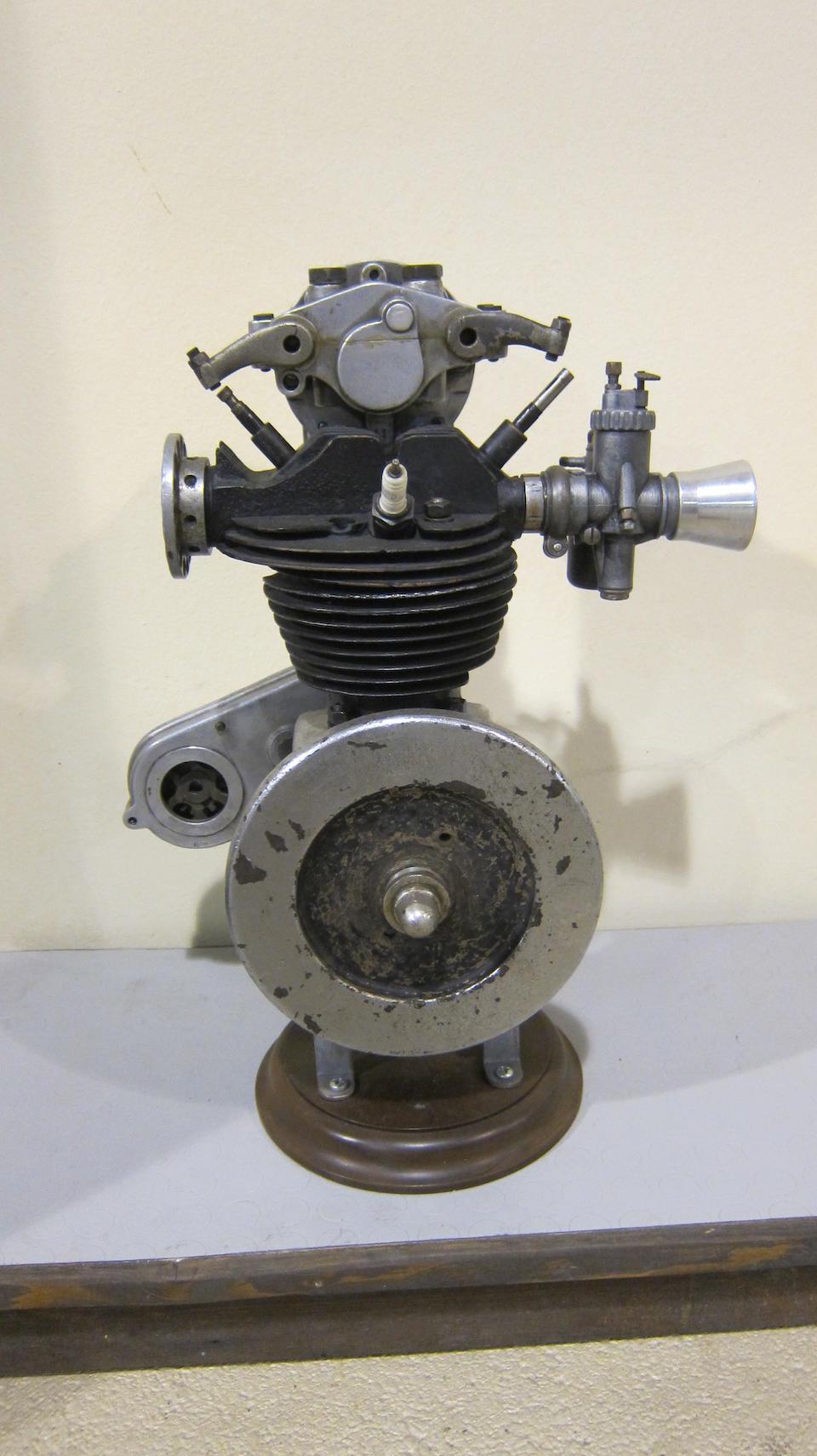 An unidentified Four-stroke OHC engine