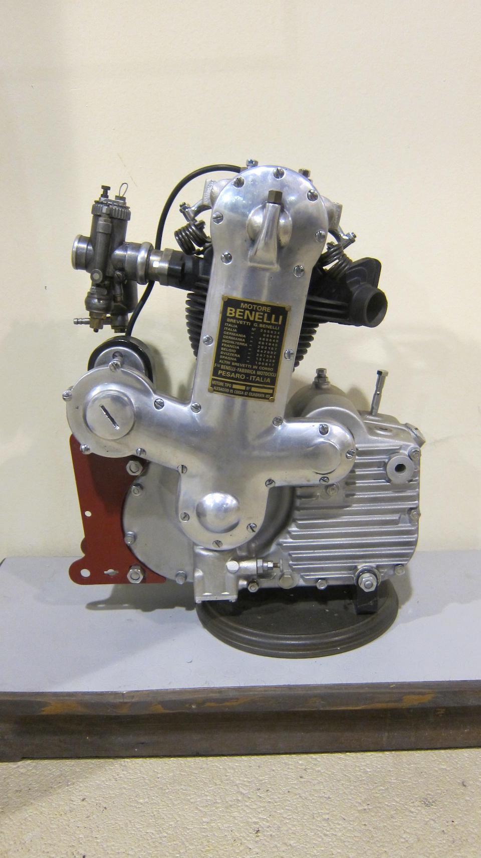 A Benelli Four-stroke OHC engine