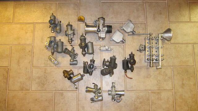 A quantity of carburettors  ((Qty))