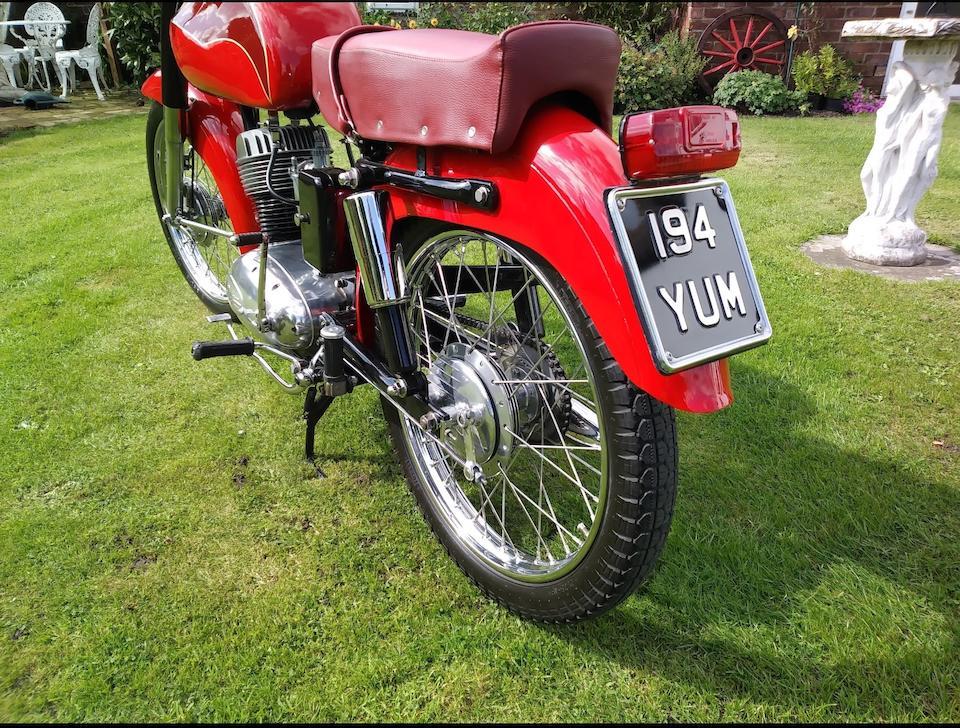1956 Beta-Mondial 150cc Frame no. 15389 Engine no. 15389