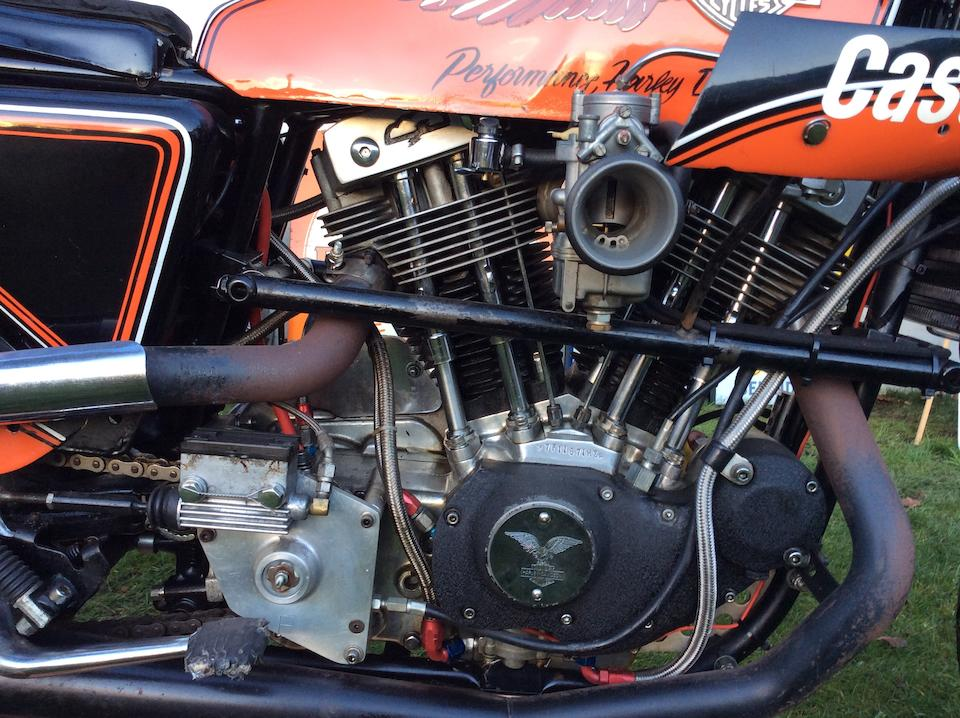 1978 Harley-Davidson 998cc XLCR Racing Motorcycle Frame no. 7F11671HB Engine no. 7F11671HB