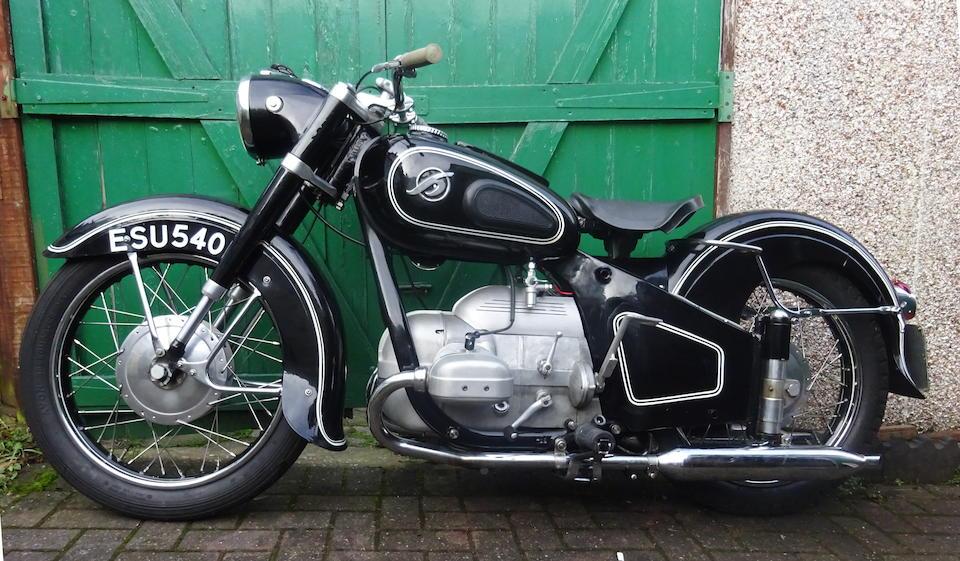 1953 Hoffmann 248cc MP250 Gouverneur  Frame no. 252950 Engine no. 922762