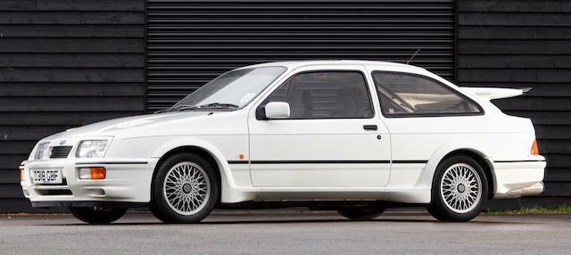 Bonhams 1987 Ford Sierra Rs Cosworth Chassis No Wf0eccgbbegr93447