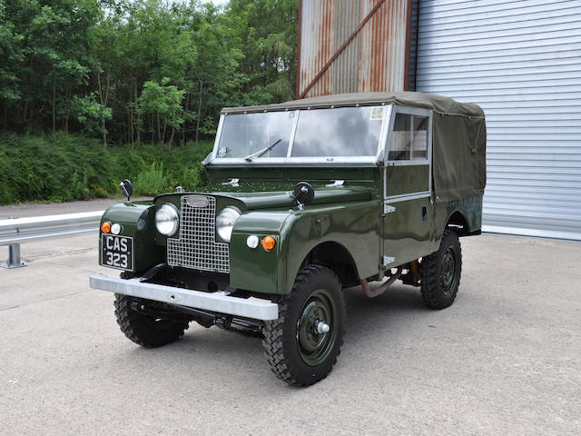 1957 Land Rover Series I 88 Inch  Chassis no. 111702266