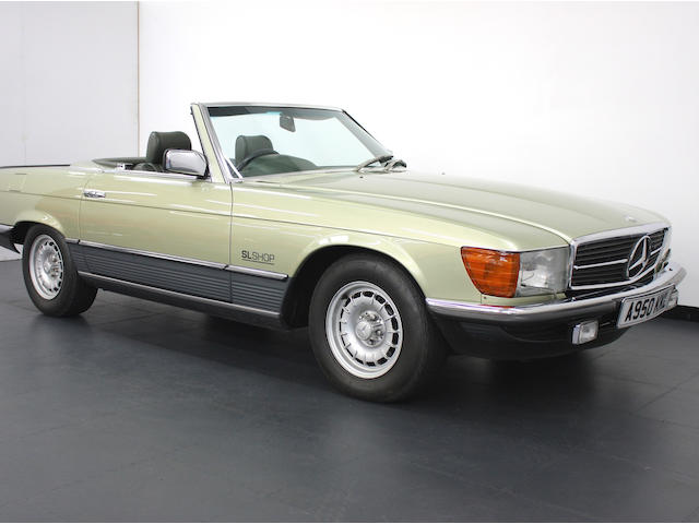 1983 Mercedes-Benz 500SL Sports  Chassis no. 10704622003261