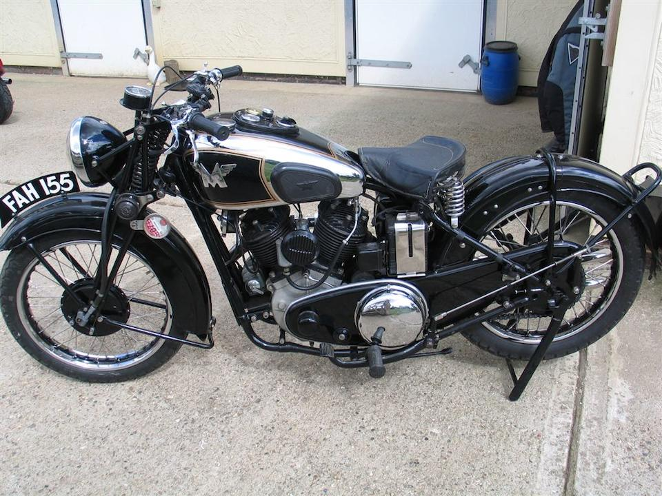 1938 Matchless 982cc Model X Frame no. 774 Engine no. 38/X 5280