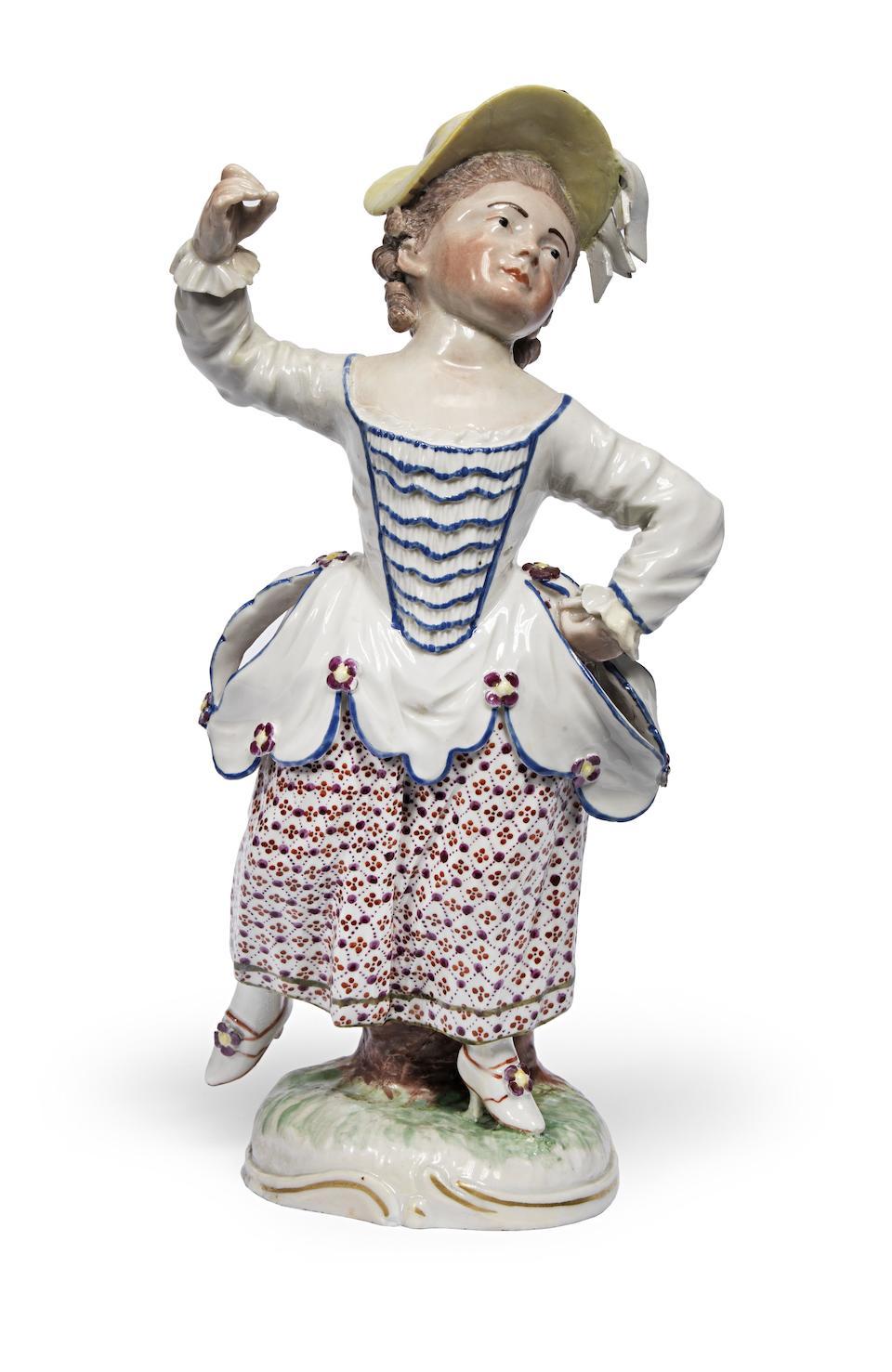 Two Frankenthal figures Circa 1760-1770