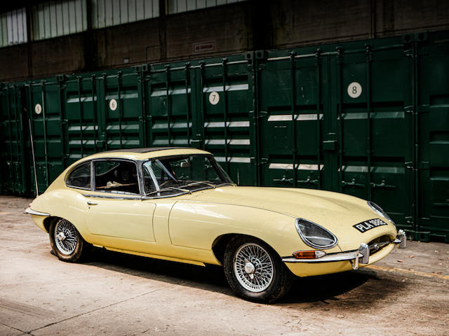 single ownership since 1982,1967 Jaguar E-Type series 1 4.2 2+2 project  Chassis no. LE50810BW Engine no. 7E53039-9