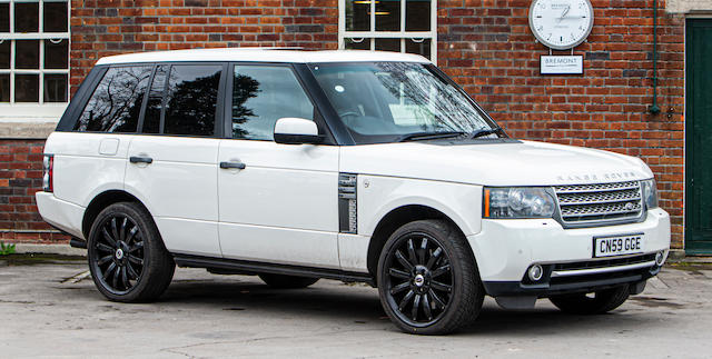 2009 Land Rover Range Rover 5.0 V8 Supercharged Autobiography  Chassis no. SALLMAME3AA312264
