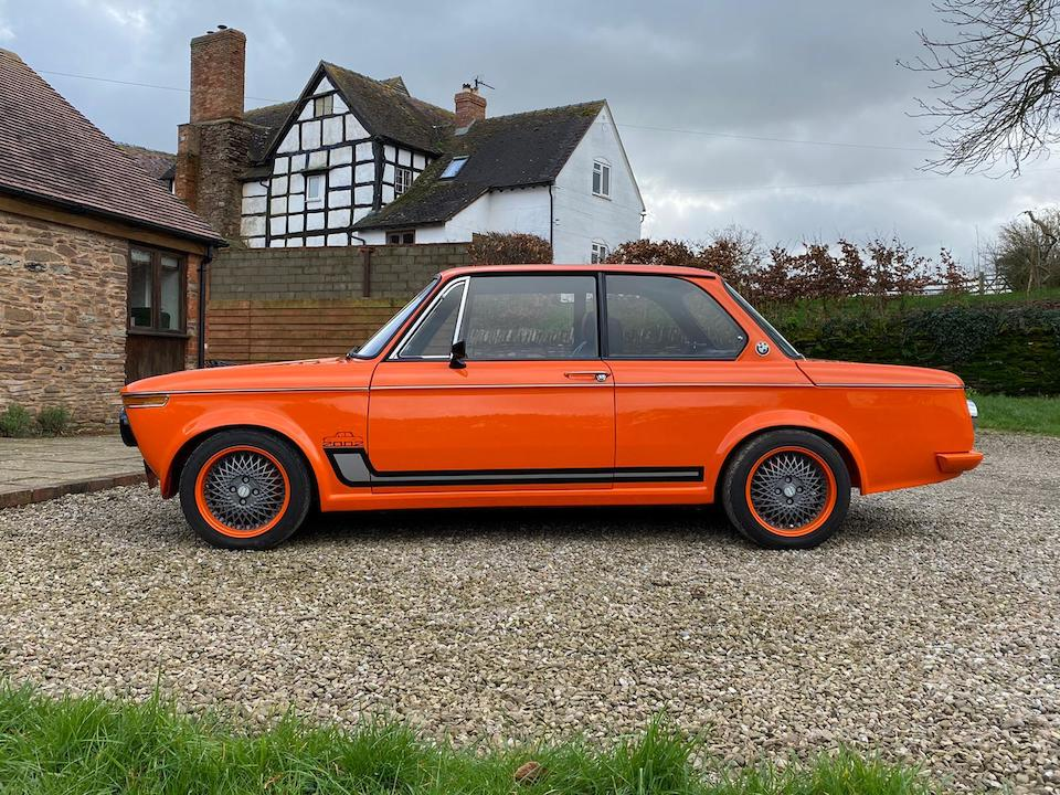 1972 BMW 2002 Restomod Saloon  Chassis no. 1554505