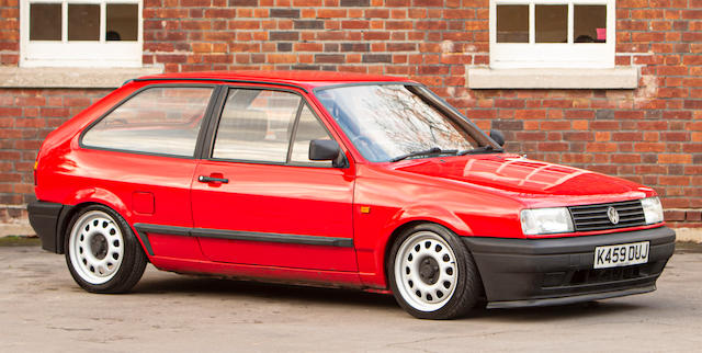 1993 Volkswagen Polo Coupé  Chassis no. WVWZZZ80ZPY169306