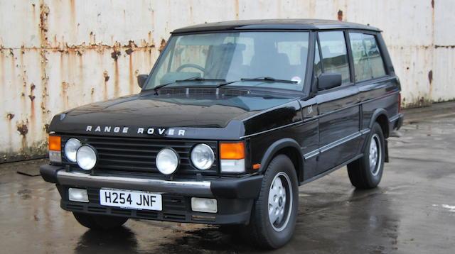 1991 Land Rover Range Rover CSK  Chassis no. SALLHABM3GA462052