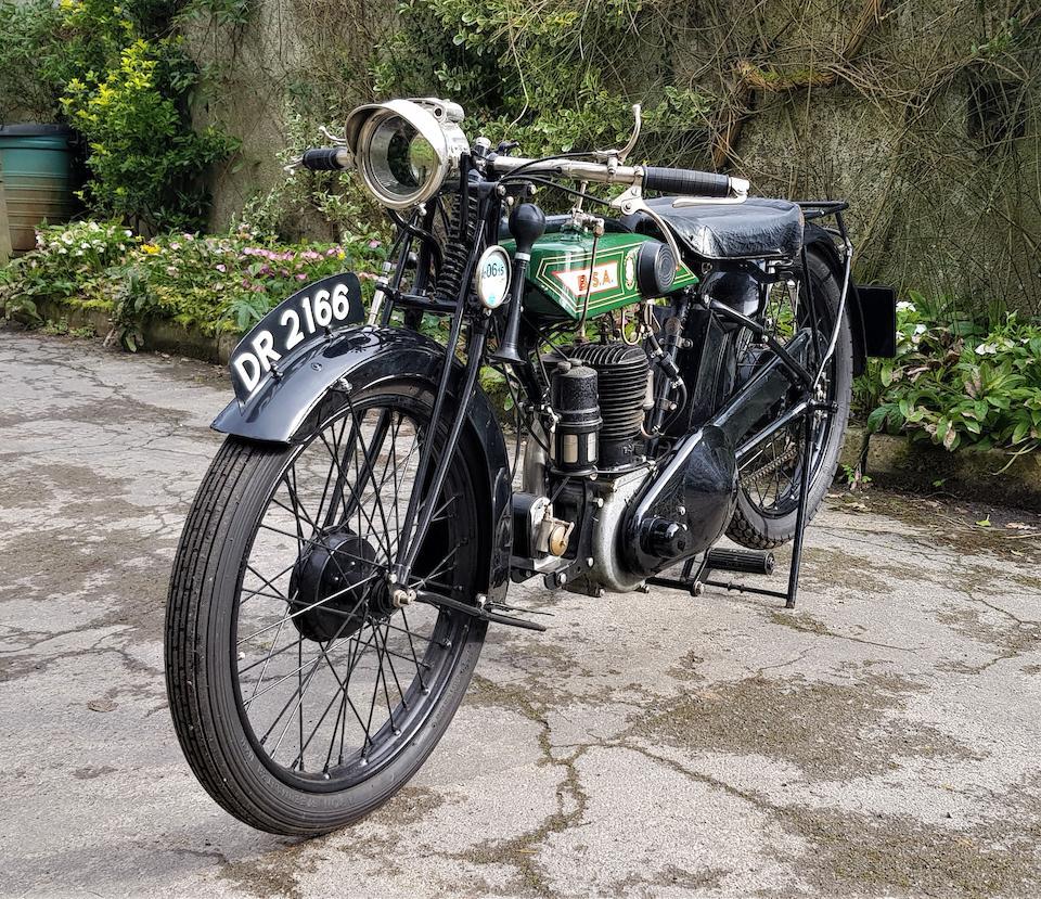 1927 BSA 493cc Model S27 Frame no. GR7754 Engine no. M13041S