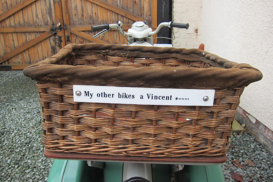 Property of a deceased's estate, 1960 Velocette 192cc LE Mark III Frame no. 3017/34 Engine no. 3017/3