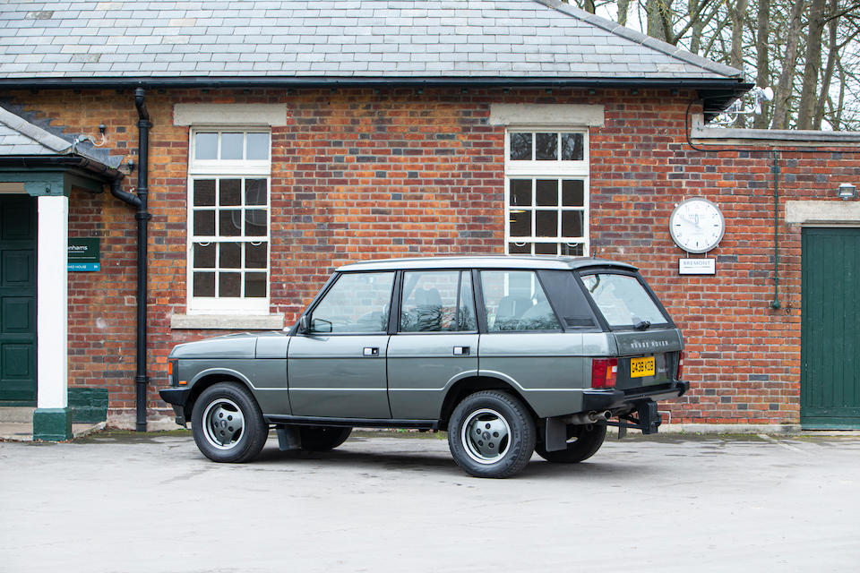 1989 Land Rover Range Rover  Chassis no. SALLHAML7FA393305