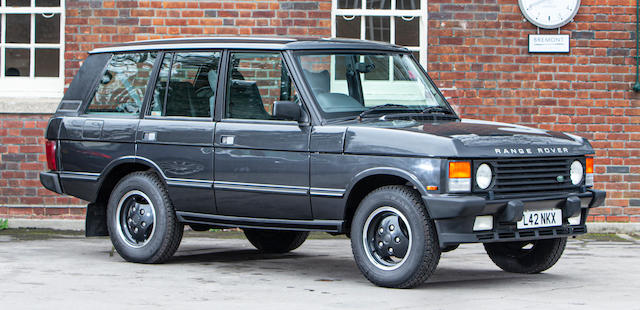 1994 Land Rover Range Rover  Chassis no. SALLHAMM3MA649616