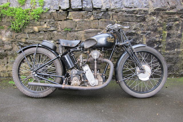 c.1932 Velocette 348cc KTT Frame no. KX4096 Engine no. KTT343 (see text)