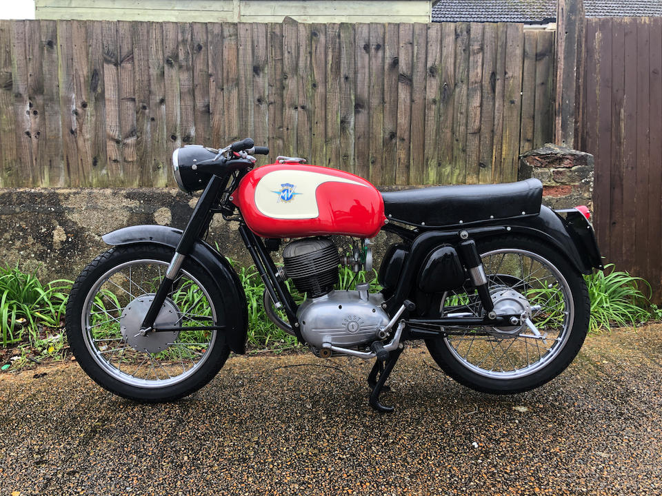 1961 MV Agusta 150cc GT Frame no. GT647085 Engine no. 870389