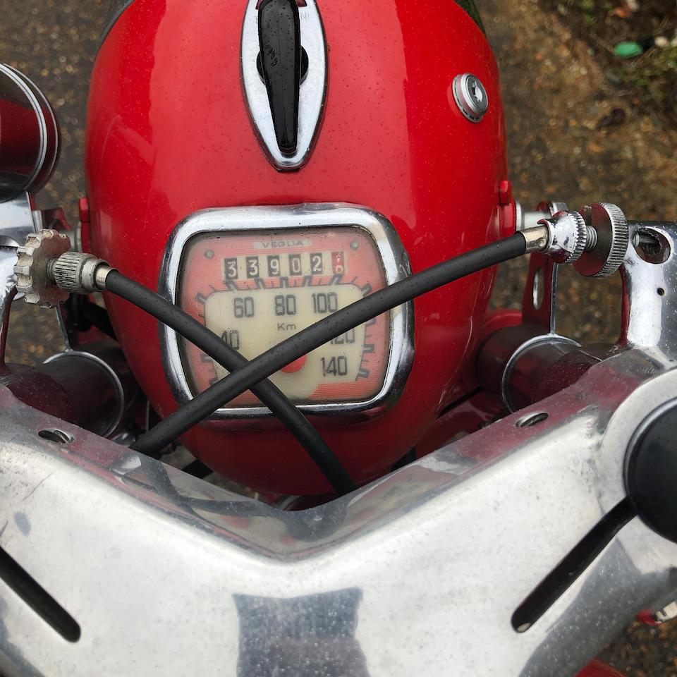 1960 Moto Morini 175cc Tresette Sprint Frame no. 43044 Engine no. TS41939