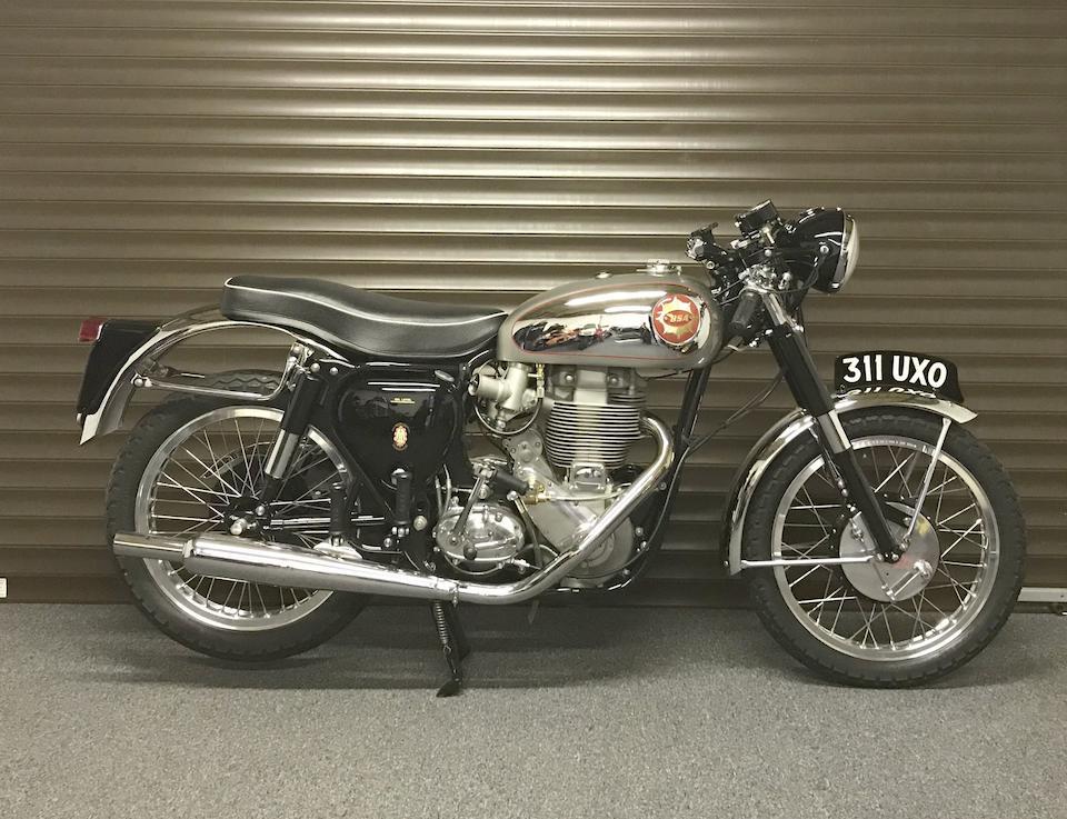 1956 BSA 499cc DBD34 Gold Star Frame no. CB32 6024 Engine no. DBD34GS 2526