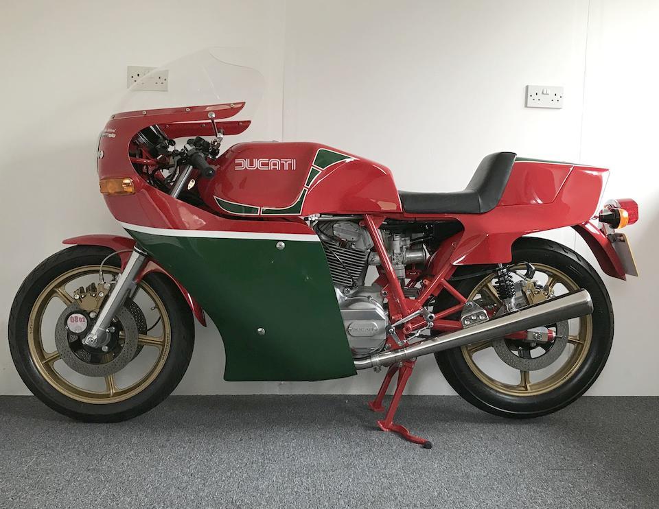1979 Ducati 864cc Mike Hailwood Replica Frame no. 900013 Engine no. 089441